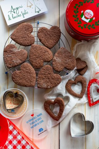 biscotti cioccolato e arancia lega filo d'oro