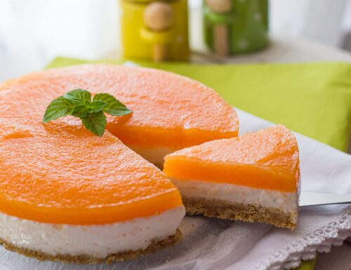 Cheesecake Melone e Yogurt Greco