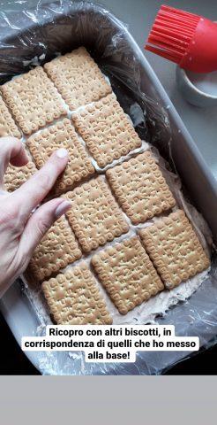 biscotti gelato con latte condensato
