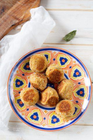 crocchette cavolfiore ceci couscous