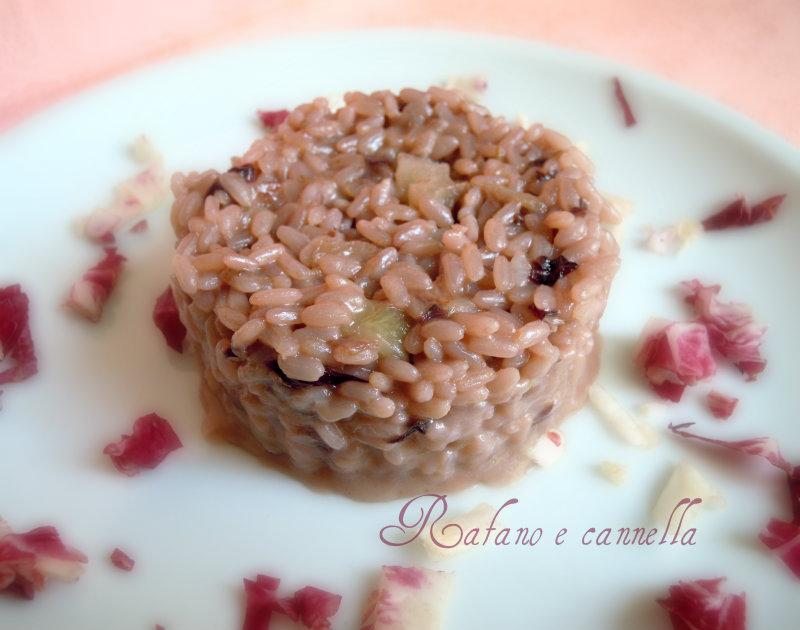 Risotto con radicchio e vino rosso | ricetta gustosa