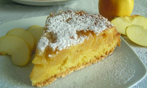 Torta rovesciata alle mele