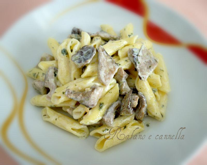 Ricette pasta e cardoncelli in bianco