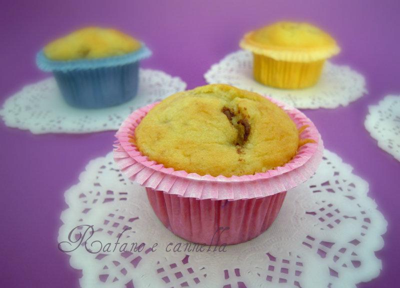 Muffins banana e nutella