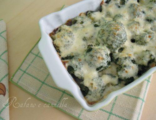Broccoletti ai formaggi