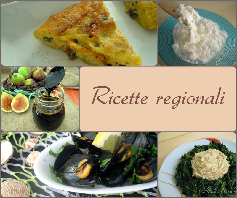 Ricette regionali for Ricette regionali
