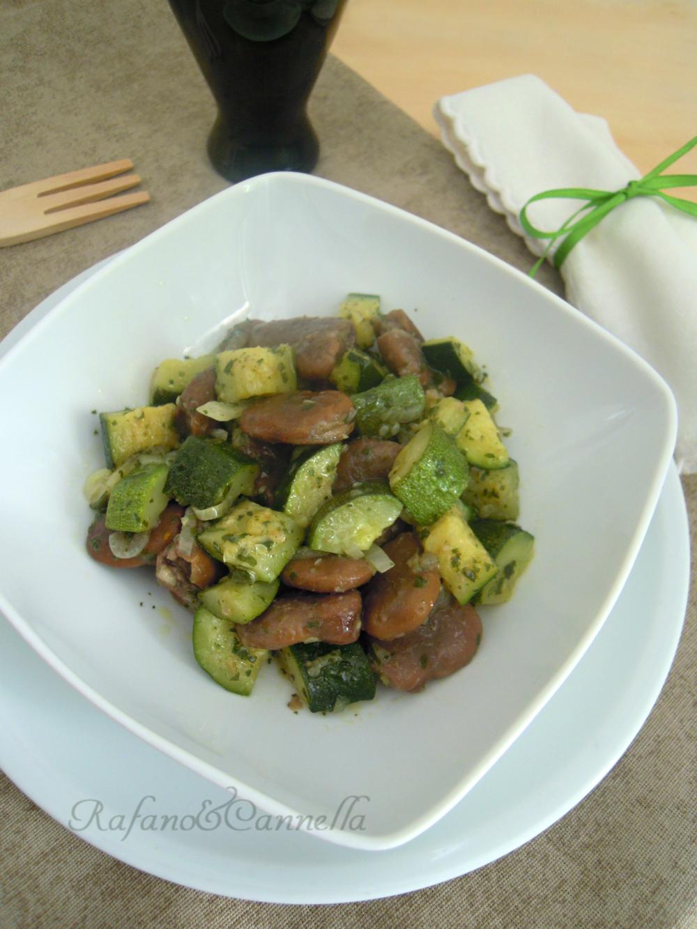 Fave e zucchine