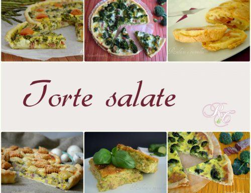 Torte salate – ricettario scaricabile