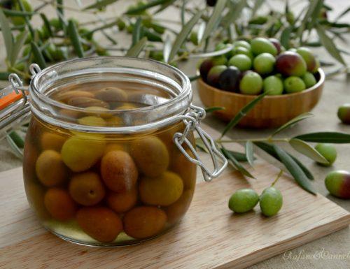 Olive in salamoia (o in acqua)