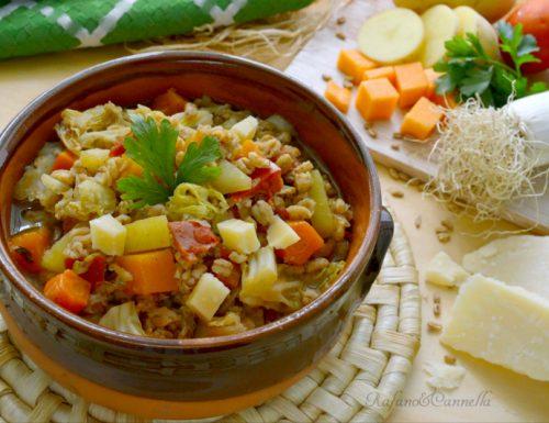 Zuppa di farro contadina