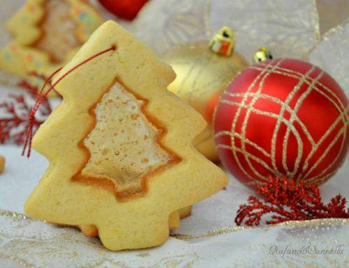 Biscotti natalizi col vetrino