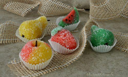 Fruttini - dolcetti di pasta reale