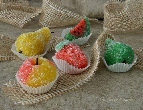 Fruttini – dolcetti di pasta reale