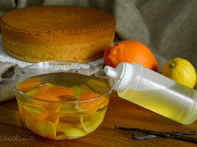 bagna analcolica per torte