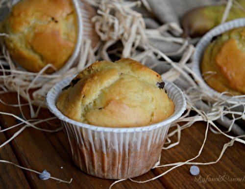 Muffins alla pera e cioccolato – video ricetta