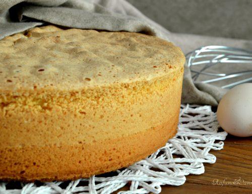 Simil pan di Spagna – base per torte farcite – video ricetta