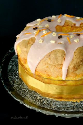 chiffon cake all'aracia