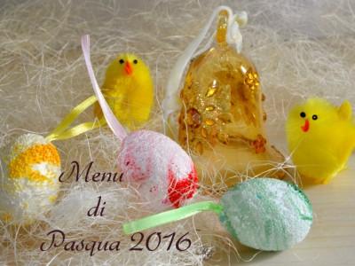 menu' di Pasqua