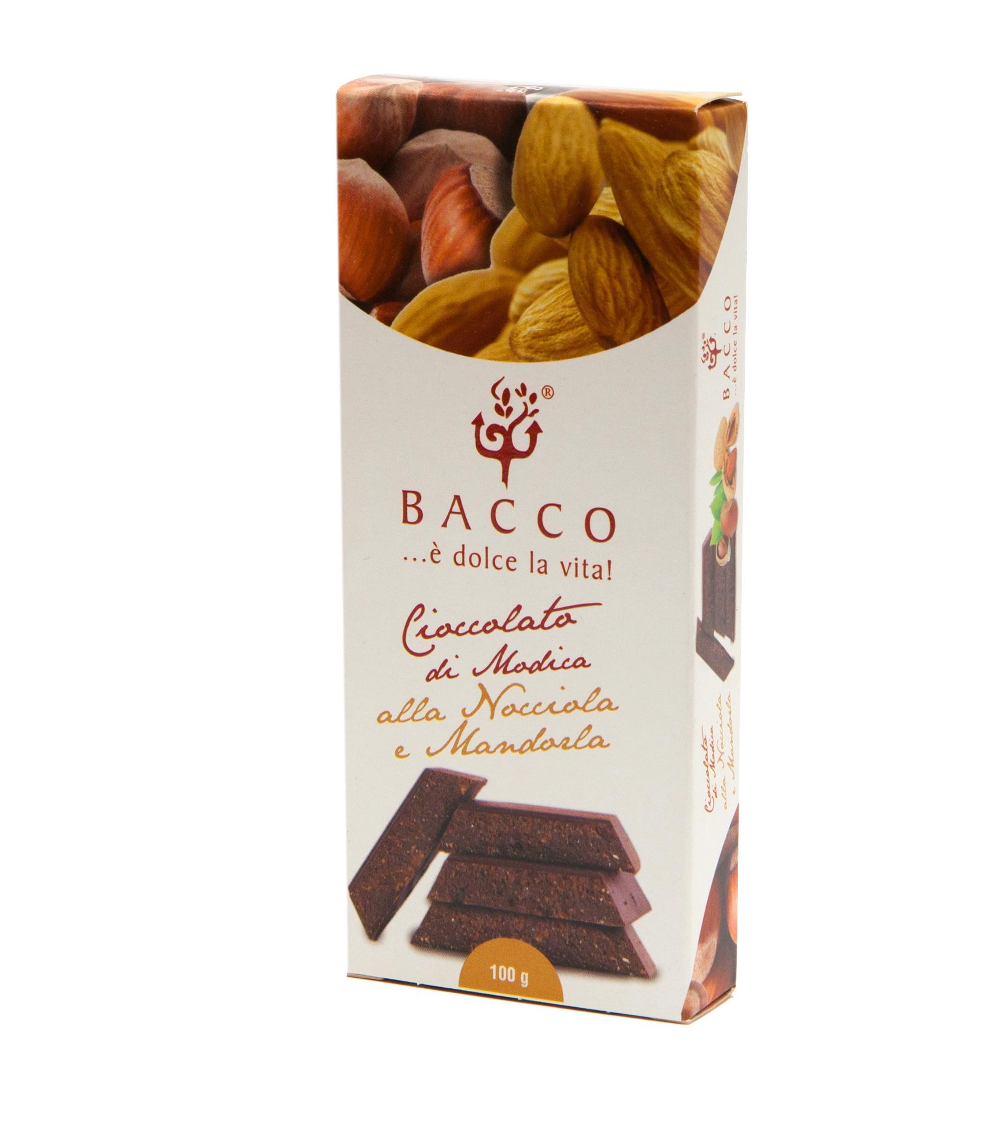 cioccolato nocciola mandorla bacco