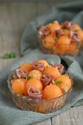 prosciutto e melone in coppa