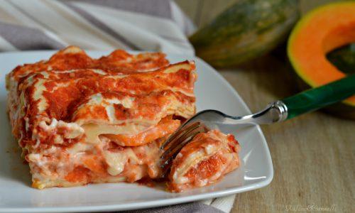 Lasagne cremose alla zucca