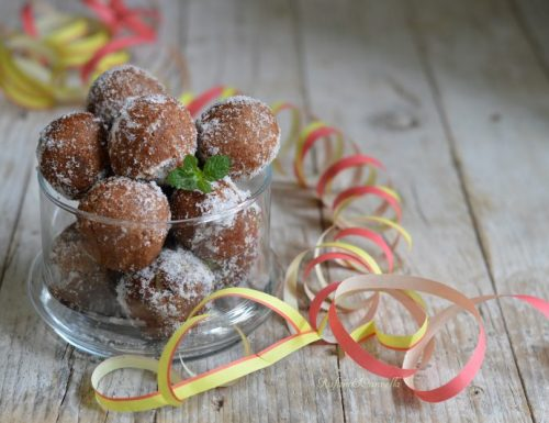 Castagnole di carnevale al cioccolato