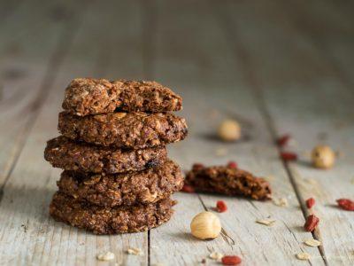 biscotti ai cereali e cioccolato