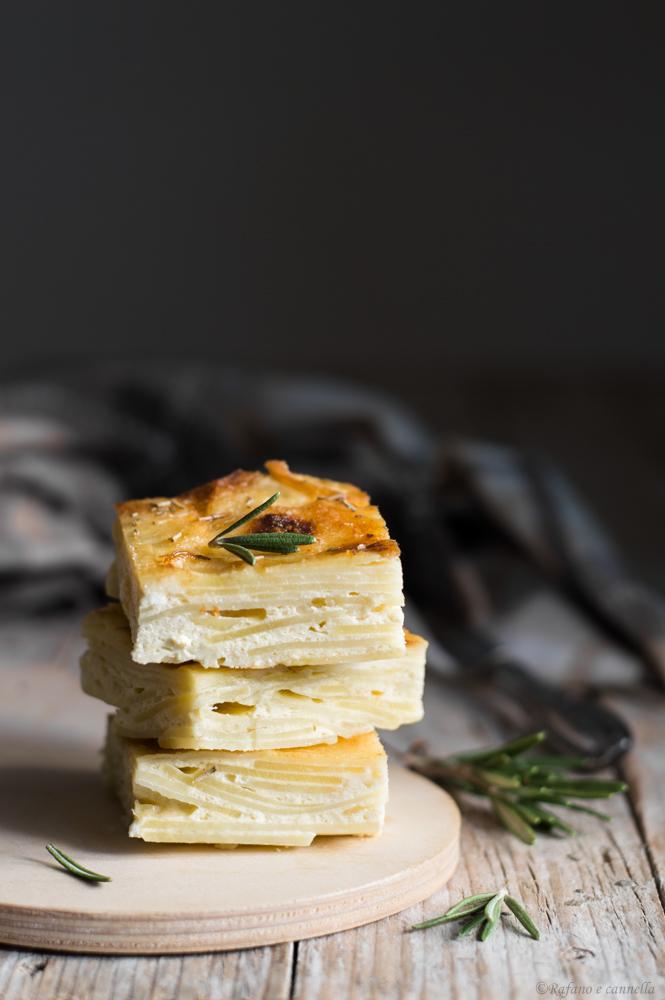 frittata al forno con le patate