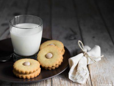 biscotti di kamut con crema alle castagne