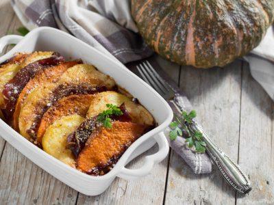 tortino di zucca e patate