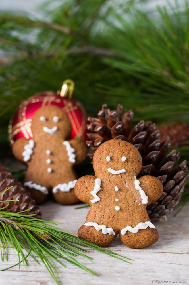 Gingerbread - omini in pan di zenzero
