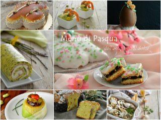 menù di Pasqua dall'antipasto al dolce