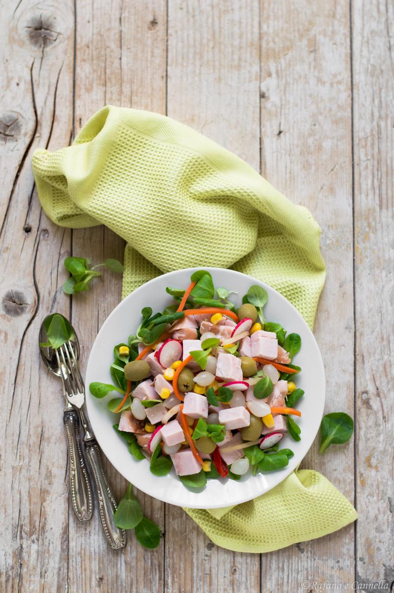 insalata con tacchino arrosto