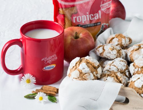 Biscotti morbidi mela e cannella