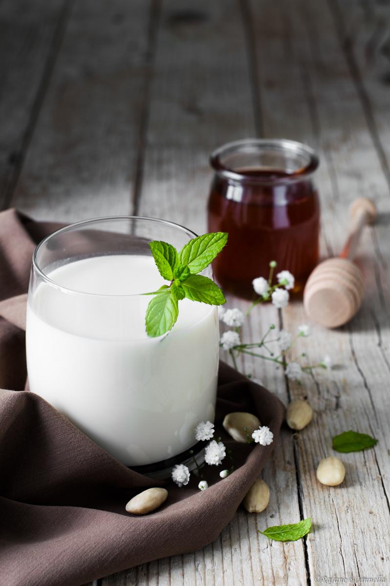 Latte di mandorla al miele di castagno