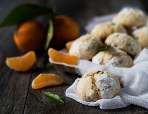 Biscotti morbidi al mandarino e zenzero