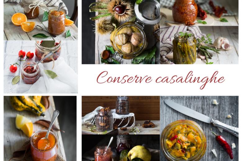 Conserve casalinghe – le classiche ricette della nonna