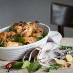 pollo arrosto speziato