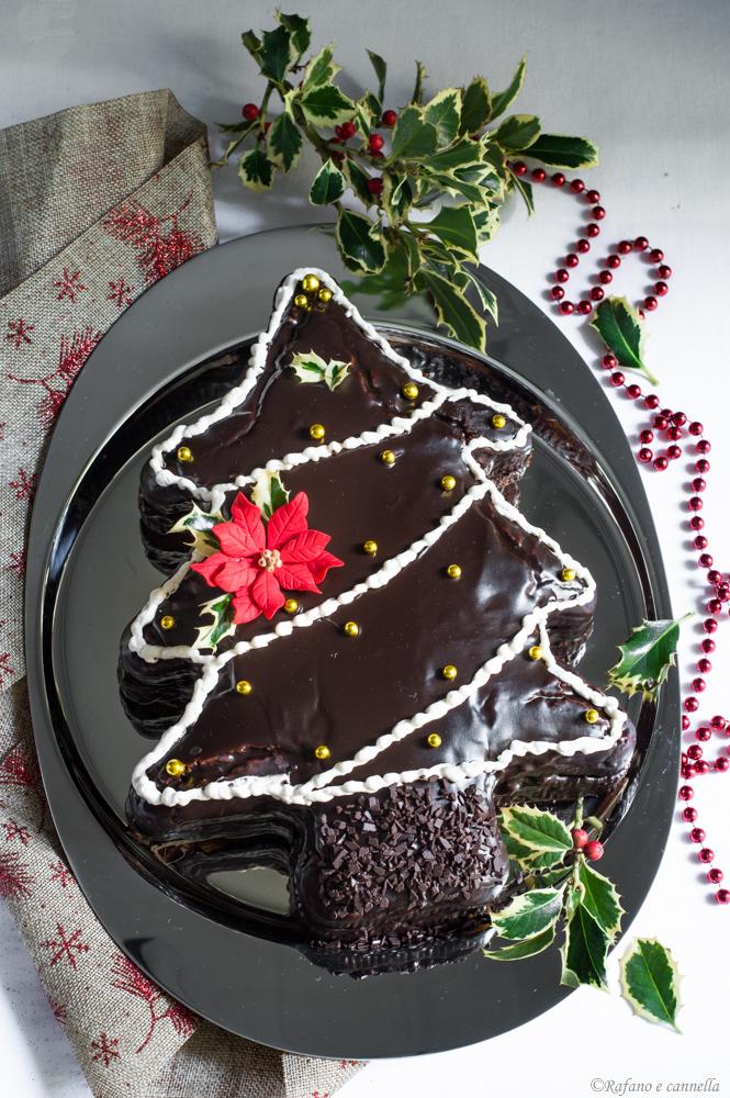 torta pandoro al cioccolato