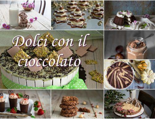 Dolci con il cioccolato
