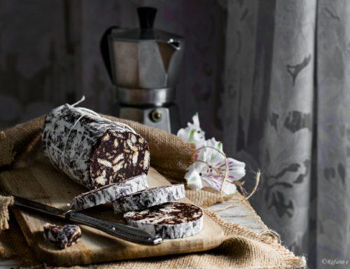 Salame di cioccolato al caffè