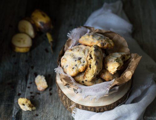 Bananotti – biscotti banana e cioccolato
