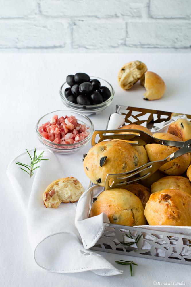 bocconcini di pan focaccia per aperitivo