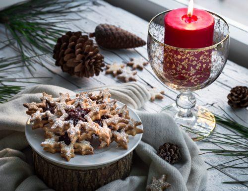 Biscotti natalizi alla mandorla
