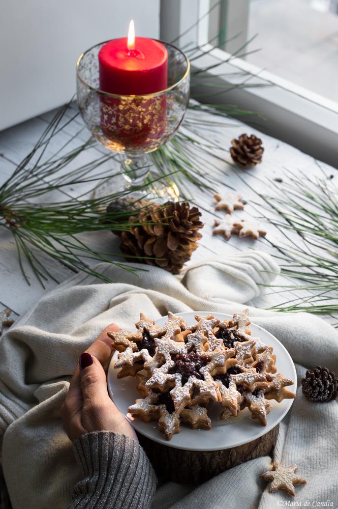 biscoti natalizi alla mandorla