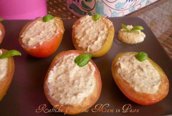 Barchette di pomodori