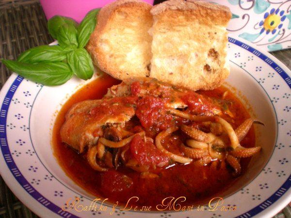 Zuppa di pesce,ricetta tradizionale