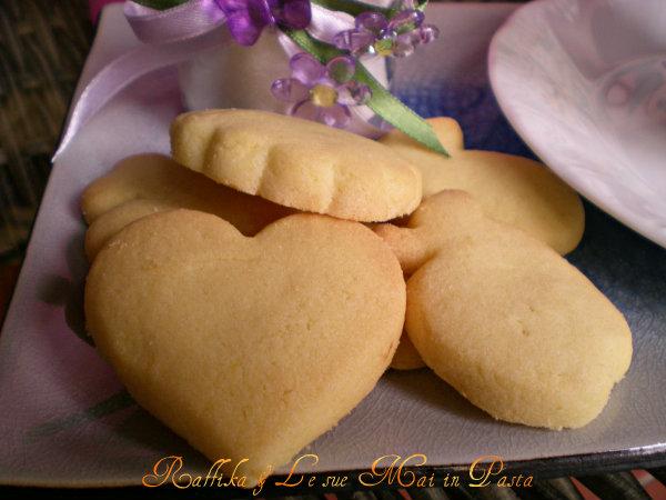 Biscotti di pasta frolla (particolare)