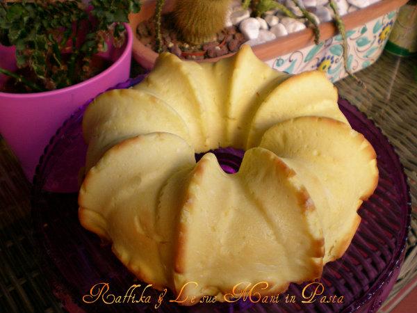 Torta di ricotta al limone (impiattata)