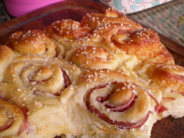 Abete di pan brioche salato